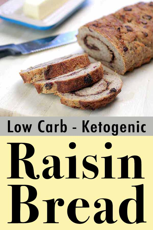 Low Carb Keto Cranberry Yeast Bread Pinterest Pin