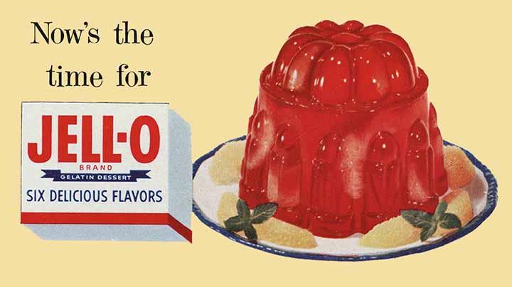 Old Jello Advertisement