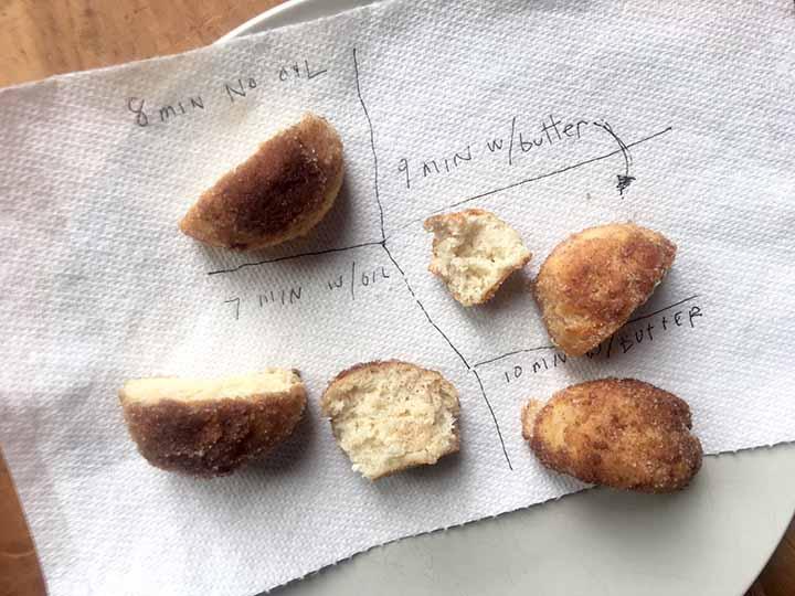 Low Carb Keto Air Fryer Doughnut