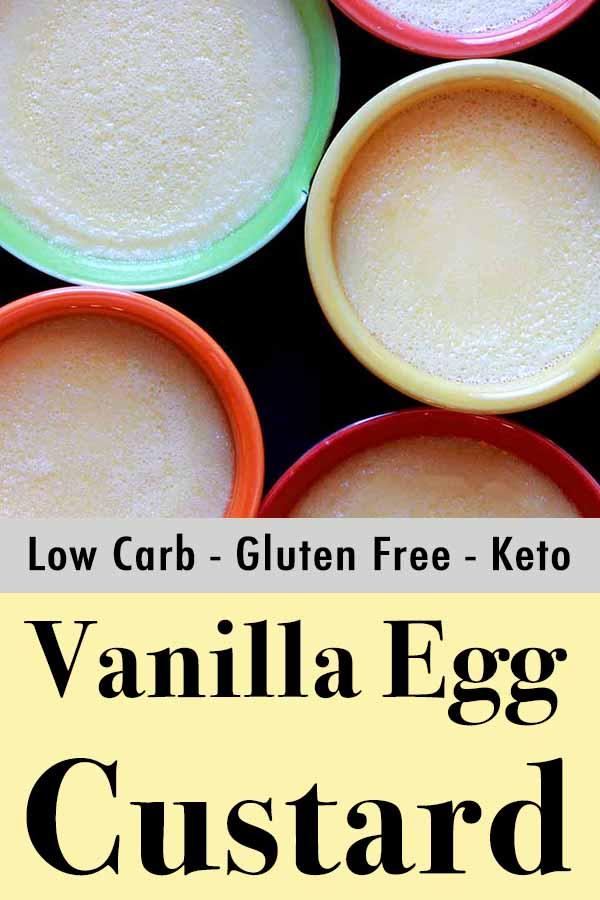 Keto Gluten Free Egg Custard