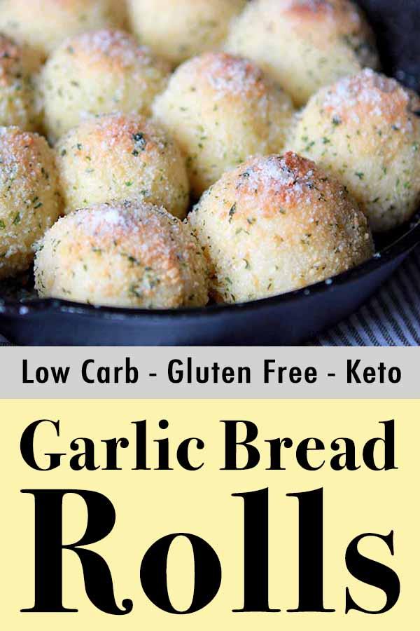 Gluten Free Paleo Garlic Bread Rolls Pinterest Pin