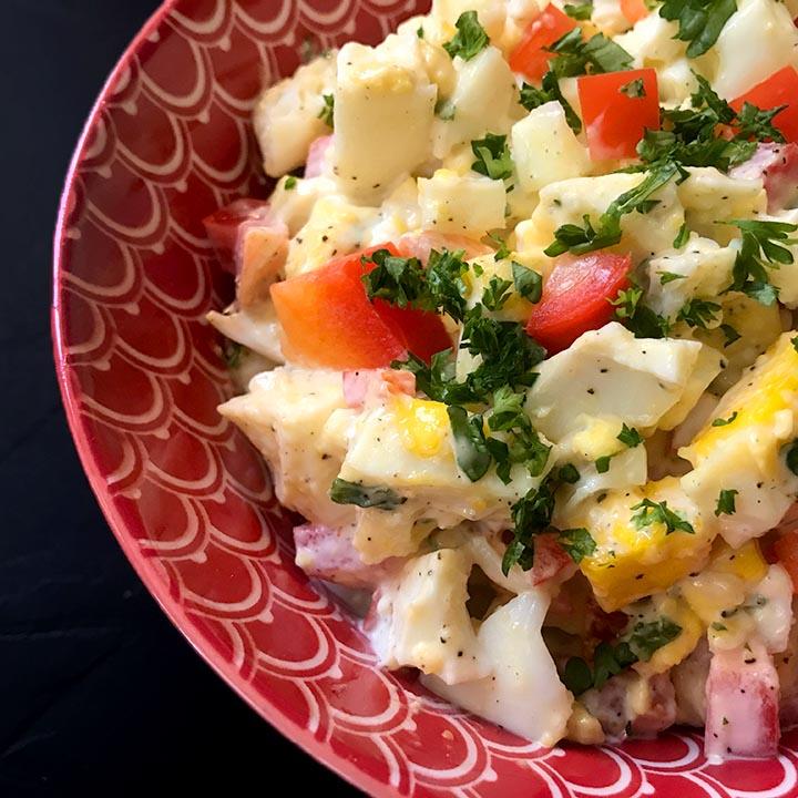 Keto Instant Pot Egg Salad