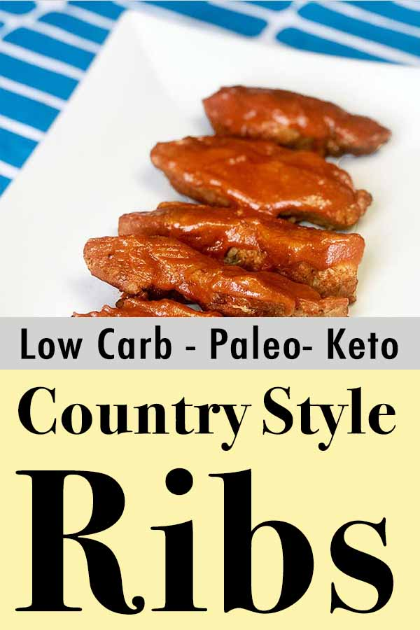 Best Paleo Country Style BBQ Ribs Pinterest Pin