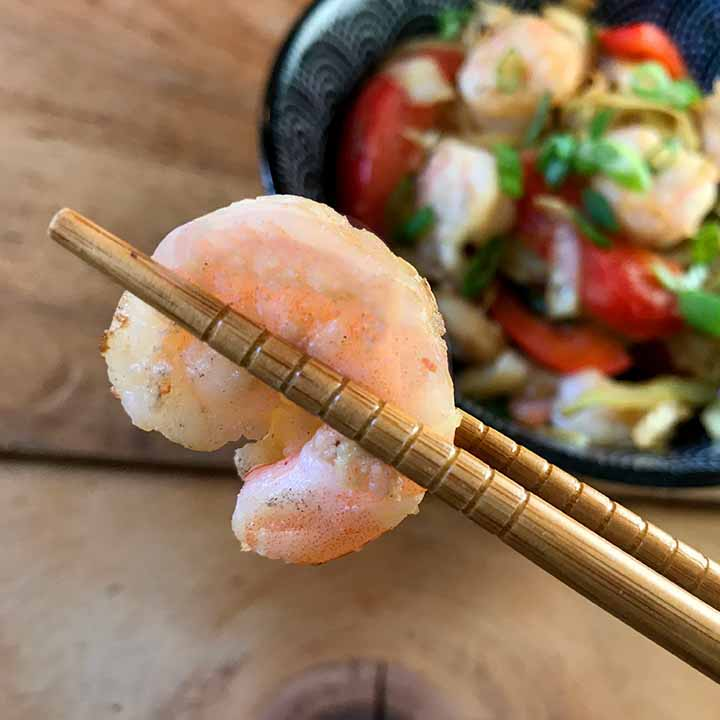 Healthy Shrimp Egg Roll In a Bowl