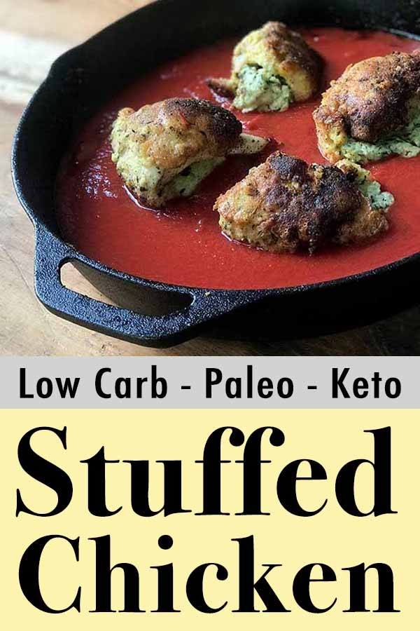 Best Primal Paleo Cheese and Spinach Stuffed Chicken Breasts