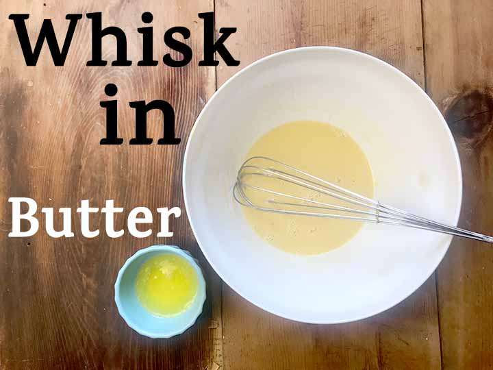 Whisk in Butter