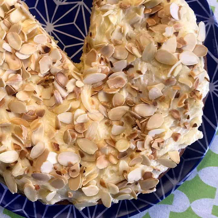 Primal Toasted Almond Torte