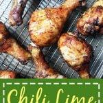 Chili Lime Chicken Legs Pinterest Pin