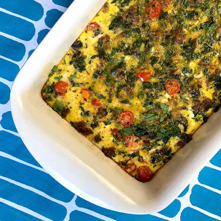 Easy Paleo Breakfast Casserole