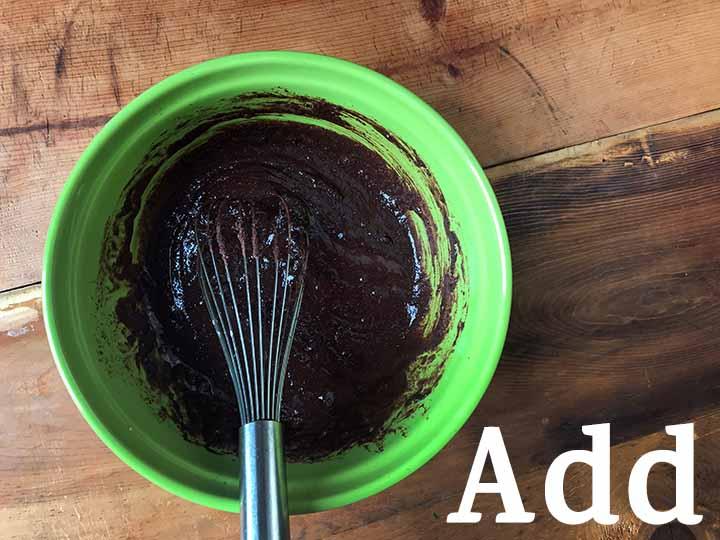 Step 3 add dry ingredients