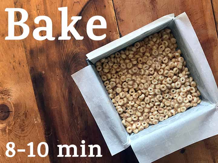 Step 5 Bake for 8-10 minutes