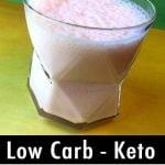 Pinterest Pin for Keto Yogurt Jello Whips