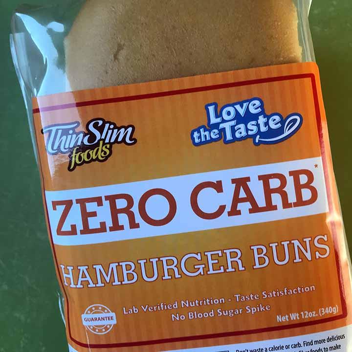ThinSlim Foods Zero Carb Hamburger Buns