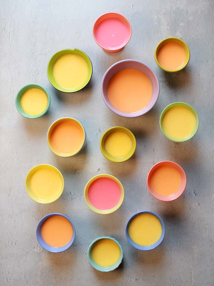 Low Carb Ketogenic Copy Cat Yoplait Fruit Yogurt