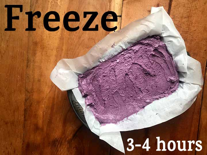 Step 7 Freeze Keto Blueberry Ice Cream for 3-4 hours