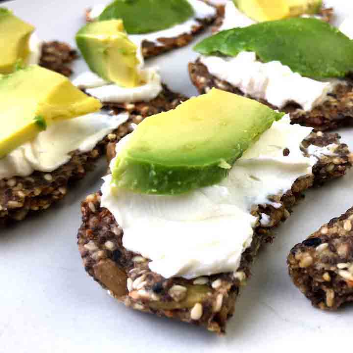 Flax Seed Crackers Low Carb Amp Keto Resolution Eats