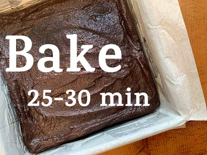Step 7 Bake for 25-30 minutes