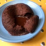 a Keto Molten Chocolate Lava Mug Cake