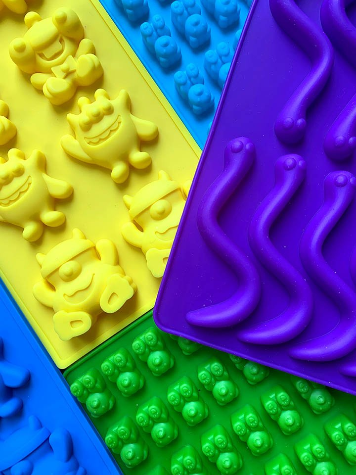 Molds for Sugar-Free Gummy Candy
