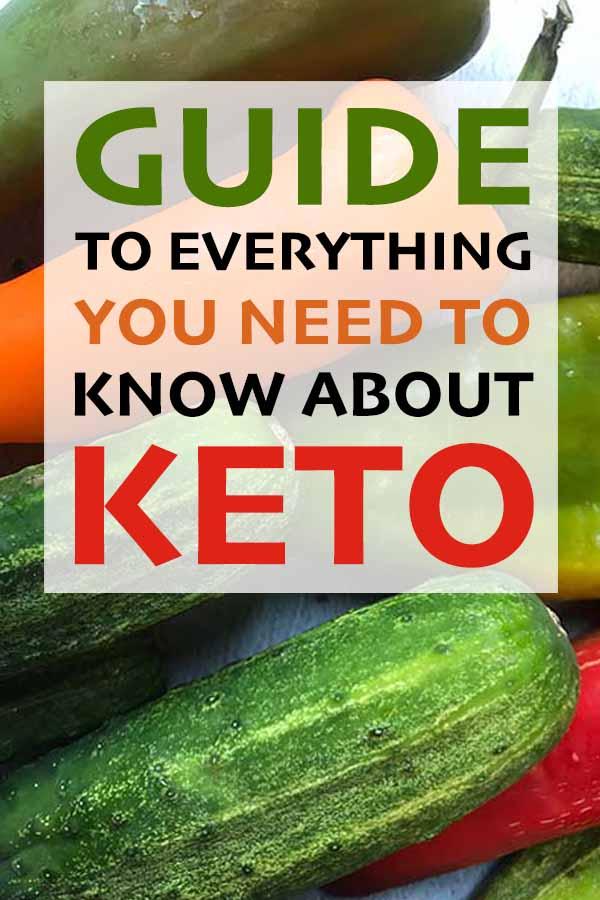 Pinterest Pin for the Keto Diet Beginner's Guide