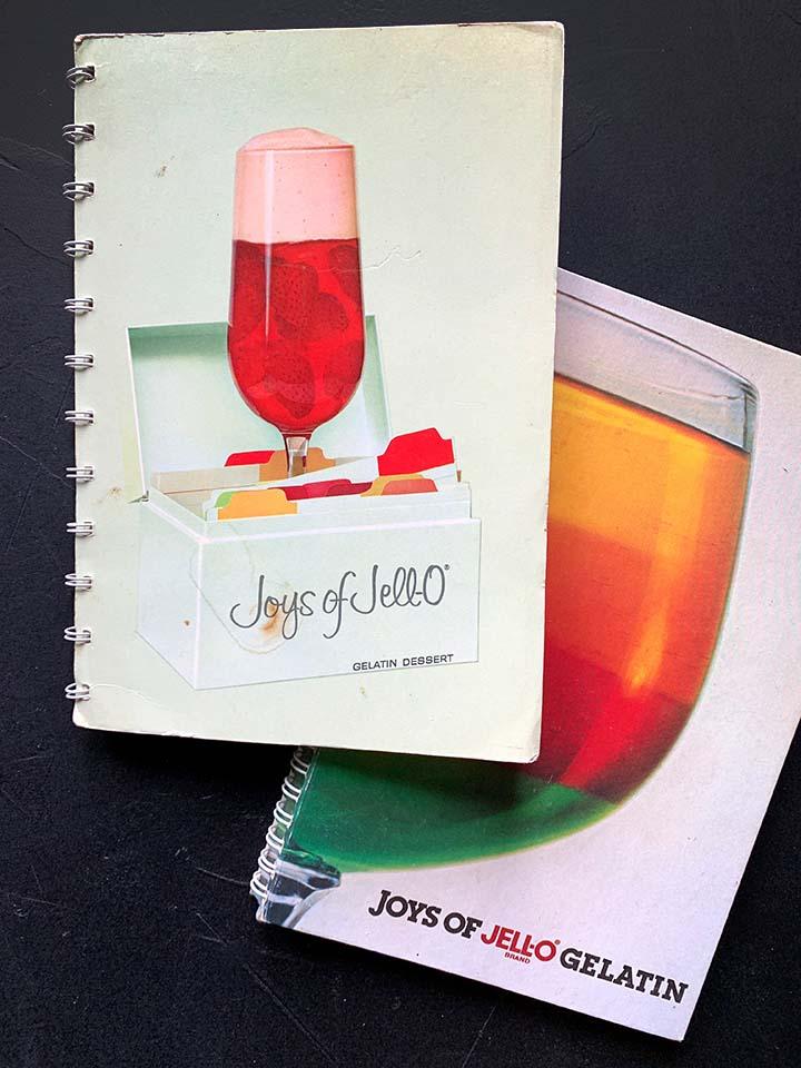 two vintage copies of the Joys of Jello