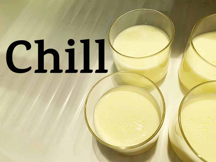 step 5 chill in the refrigerator for 2 hours