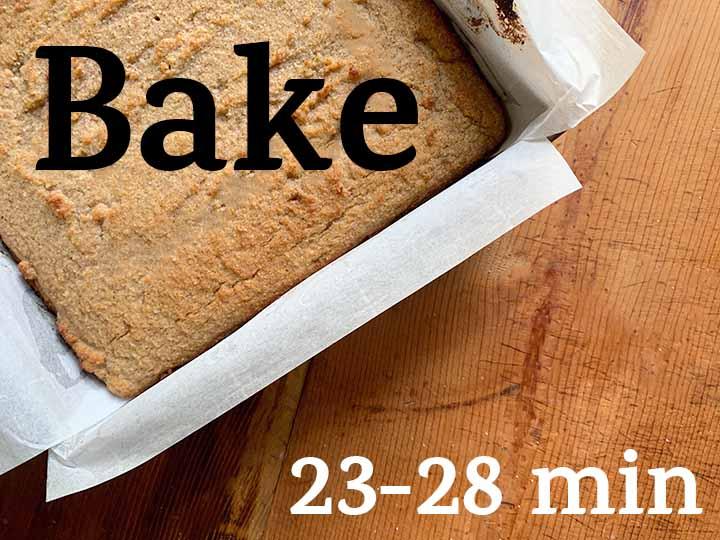 Step 8 Bake cake for 23-28 minutes