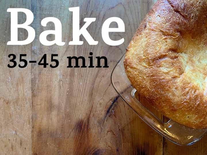 step 12 bake loaf of bread