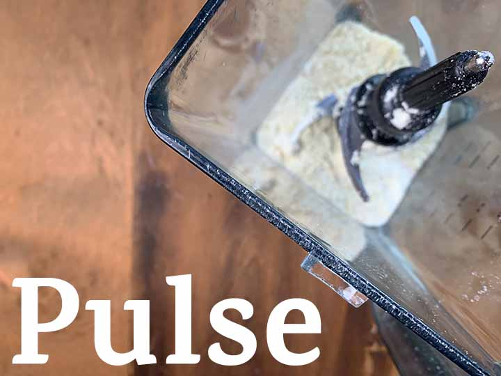 step 2 pulse dry ingredients in a blender