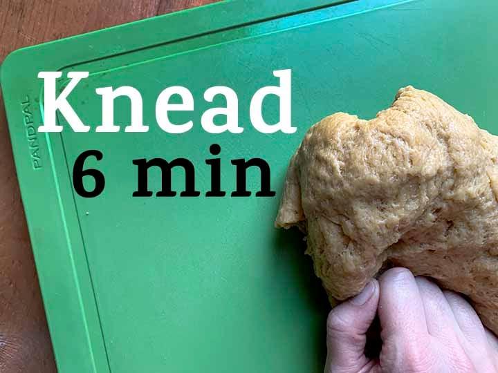 step 6 knead dough