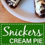 Snickers Pie Pinterest Pin