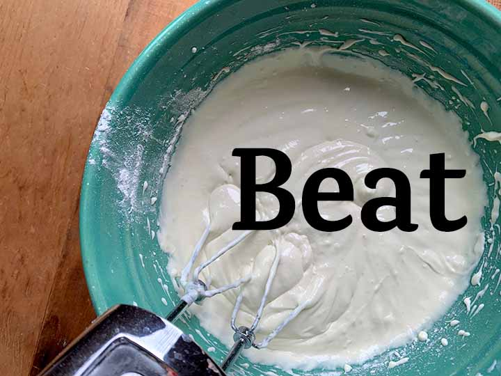 step 5 beat the batter