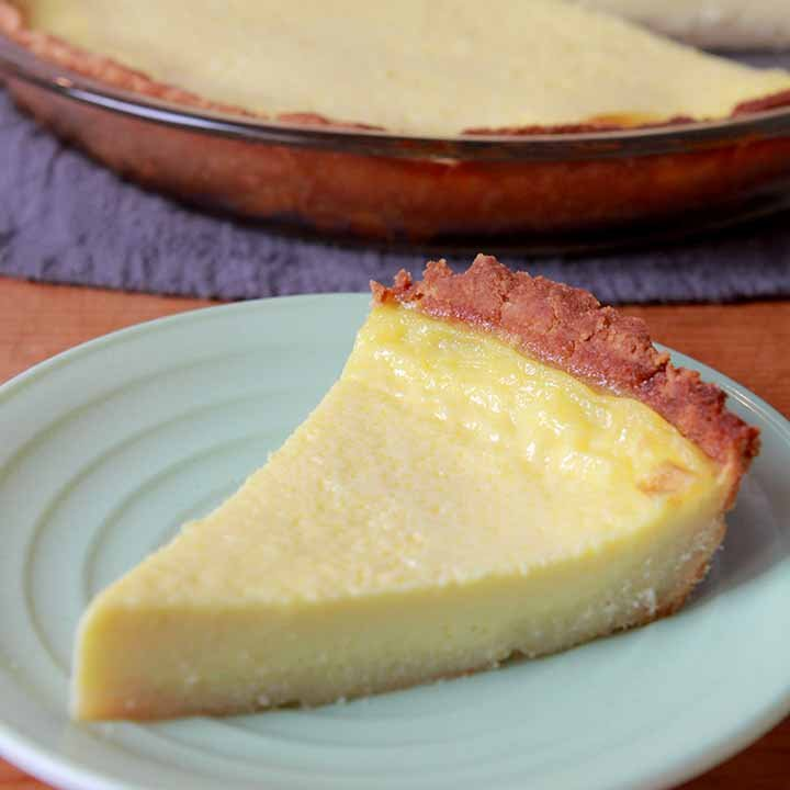 Keto Egg Custard Pie Resolution Eats