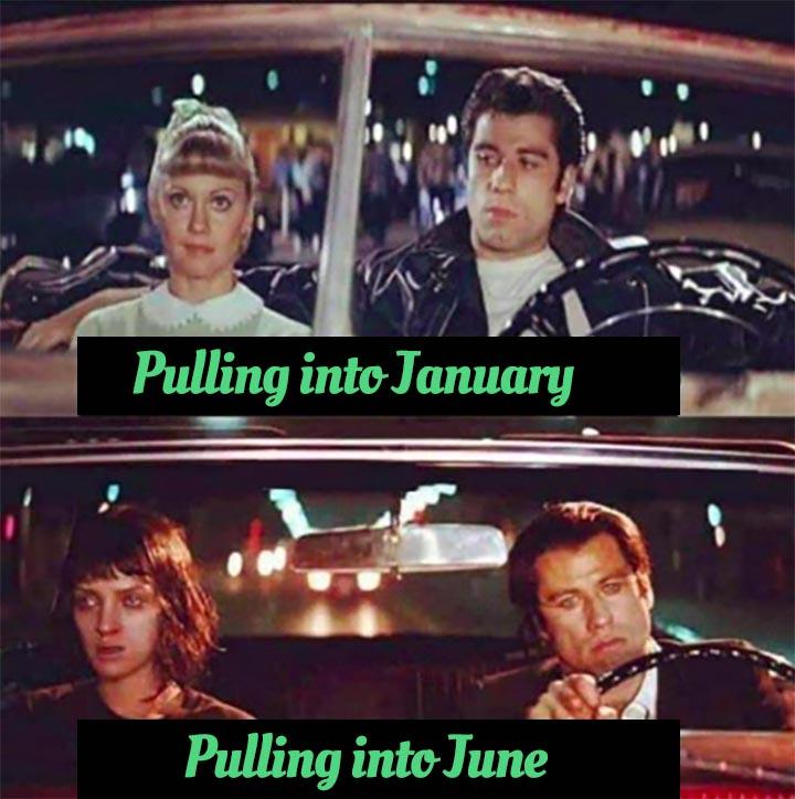 a 2020 meme with John Travolta