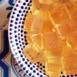 A bowl of Keto ACV Gummy Cubes