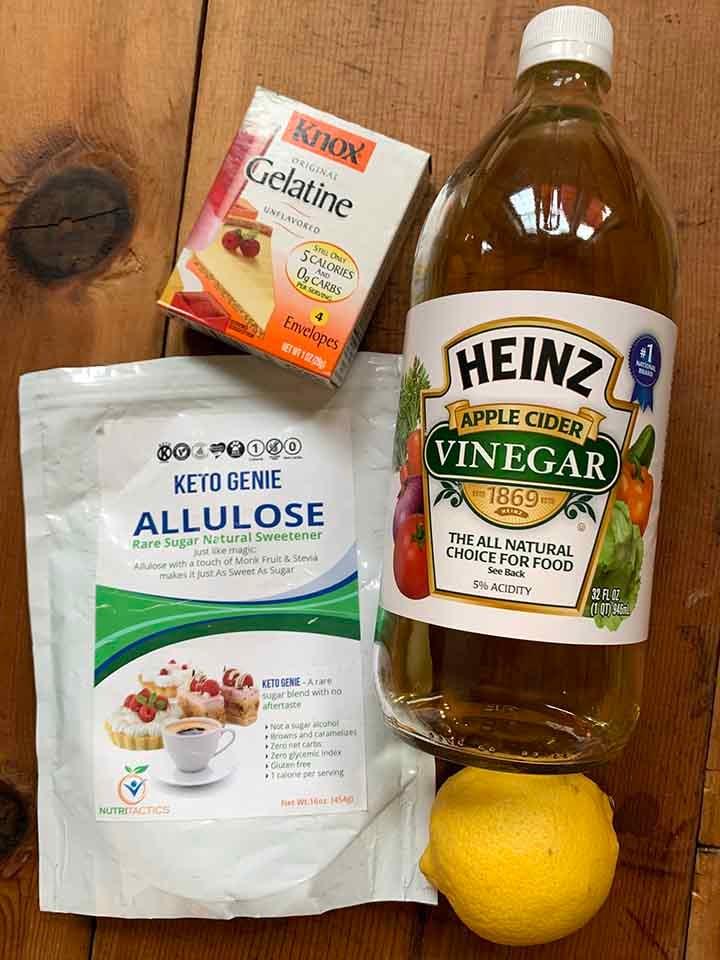 Ingredients for ACV Gummies