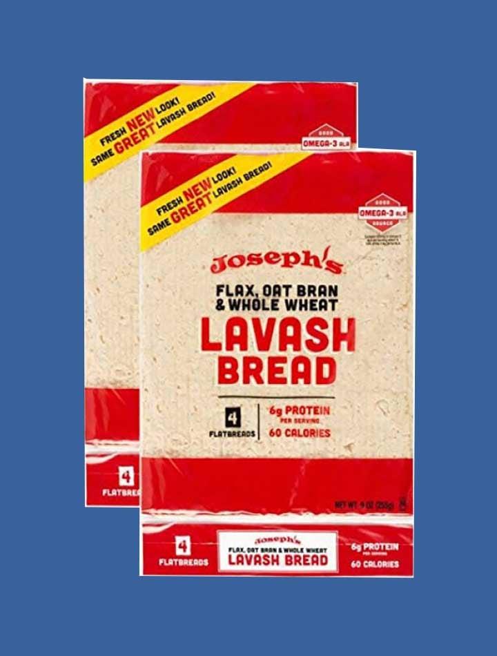 2 bags of Joseph's Lavash Bread
